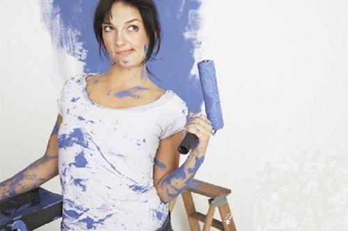 衣服油漆污渍
